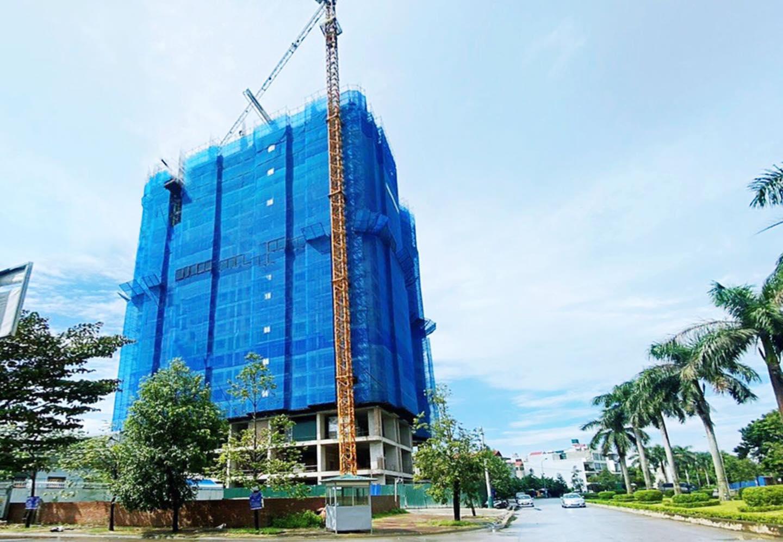 Hình ảnh tiến độ dự án Tecco Center Point Bình Minh